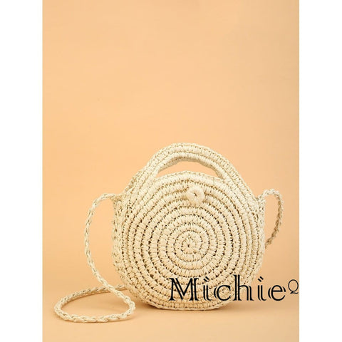 Round Straw Bag - United States Free Shipping