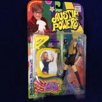 1999 McFarlane Toys Austin Powers Series 1 Felicity Shagwell Talking - Action Figure