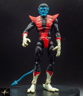 2005 Toy Biz Marvel Legends Galactus Series X-Men Nightcrawler Action Figure - Loose