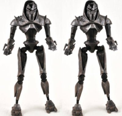 2009 Diamond Select Battlestar Galactica Series 3 Razor Battle Damaged Cylons Exclusive Action Figure 2-Pack