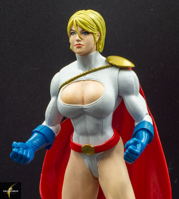 2006 DC Direct Infinite Crisis Series 1 Power Girl Action Figure - Loose