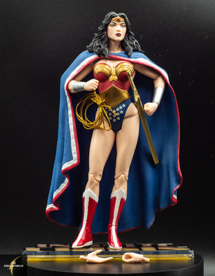 2007 DC Direct Infinite Crisis Series 2 Wonder Woman Action Figure - Loose