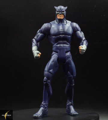 2009 DC Universe Classics Wave 9 Figure 1 Wildcat - Purple Variant - Action Figure - Loose
