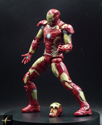 2012 Marvel Legends Iron Man MK 43 Armour Age of Ultron Avengers Action Figure- Loose