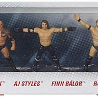 2019 Mattel WWE Collector 5 Pack Set Cena The Rock AJ Styles - Figurines