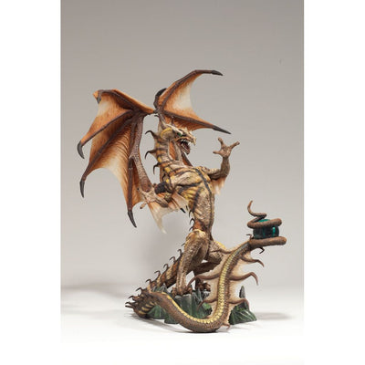2006 McFarlane's Dragons Clan 4 The Fall of the Dragon Kingdom Sorcerers Dragon - Action Figure