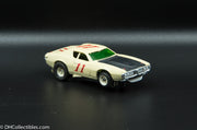 USED A/FX HO White w/ Black # 11 Road Runner Slot Car