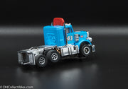 USED Round 2 HO Blue w/ Red Spoiler # 43 Peterbilt Slot Car