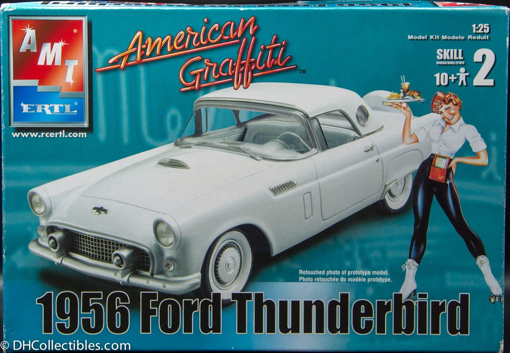 2004 AMT Ertl American Graffiti 1956 Ford Thunderbird 1:25 Model Kit