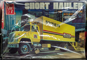 AMT Ryder Ford Truck Short Hauler Model Kit New - RARE