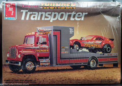 1986 AMT ERTL Tennessee Thunder Transporter 1/25 Scale Model Kit