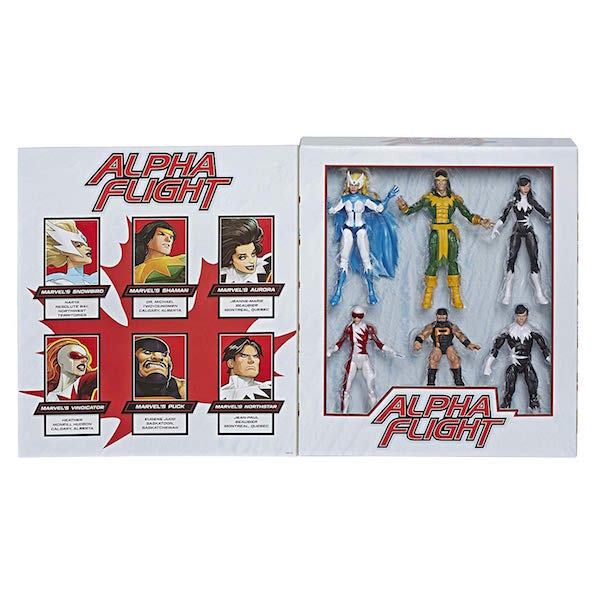2019 Marvel Legends Alpha Flight Box Set