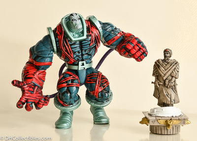 ToyBiz X-Men Onslaught Series Apocalypse Rising With Ozymandias Statue -  Loose