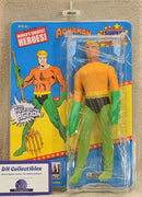 "Figures Toy Co - World's Greatest Heroes - Aquaman Super Powers Series 1 Action Figure 8"" Mego Retro"