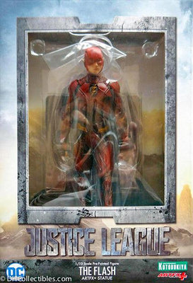 2017 Kotobukiya DC ArtFX Justice League The Flash 1/10 Scale Figure