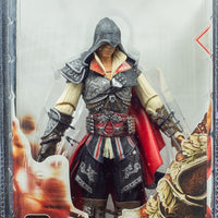 2010 NECA Assassins Creed 2 Series 1  Black Ezio Black Cloak - Action Figure