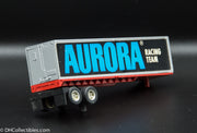 USED Aurora HO Racing Team Semi Trailer Slot Car