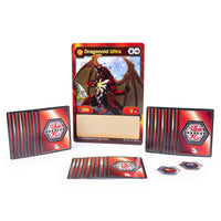 Bakugan, Deluxe Battle Brawlers Card Collection with Jumbo Foil Dragonoid Card