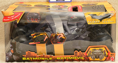 Mattel 2005 Batman Begins Batmobile Secret Weapons
