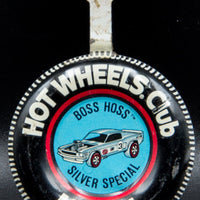 1970 Hot Wheels Redline Mustang Boss Hoss Chrome RARE COLOUR