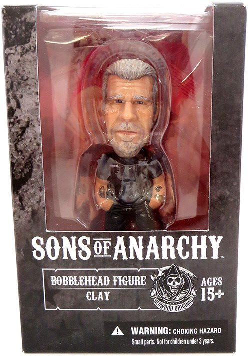 2014 Mezco Sons of Anarchy Clay Bobblehead Figure