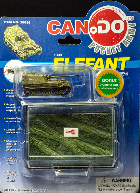 2003 Dragon Models Can.do Pocket Army Elefant Sd.Kfz. 184 Berge-Elefant (P) Item E