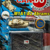 2003 Dragon Models Can.do Pocket Army M1A2 Abrams Item C of Set Iraq 2003