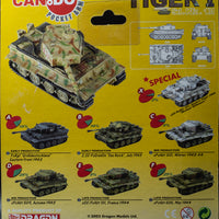 2003 Dragon Models Can.do Pocket Army Tiger I Sd.Kfz. 181 Late Production version of Set