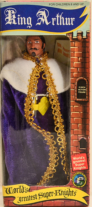 1975 Mego World's Greatest Super Knights King Arthur Action Figure