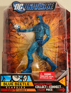2008 DC Universe Classics - Wave 7 Figure 3 - Blue Beetle Action Figure