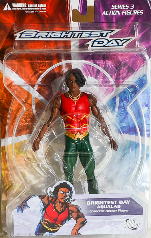 DC Direct Brightest Day Aqualad Series 3 Action Figure