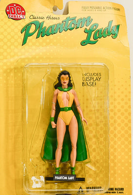 2002 DC Classic Heroes Phantom Lady Action Figure