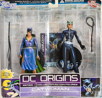 DC Origins Catwoman Series 1 Action Figure Set