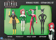 2018 DC New Batman Adventures Gotham Girls Set  - Bendable Figures