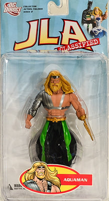 2010 JLA Classified Classic Series 2 Aquaman Action Figure