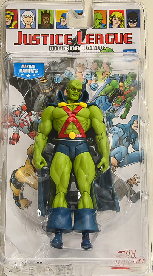 2009 DC Justice League International Series 2 Martian Manhunter Action Figure
