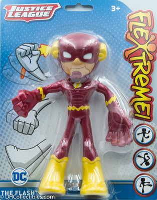 2018 Mattel DC Justice League Flextreme The Flash 7 Inch Action Figure