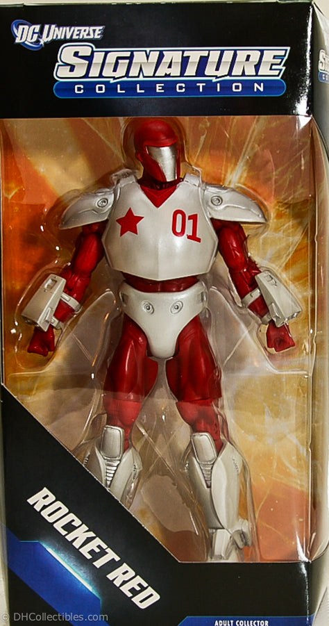 "2012 DC Universe Signature Collection Rocket Red 10"" Action Figure"