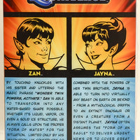 2009 Wonder Twins Dc Universe Classics Action Figure 2 Pack Zan & Jayna