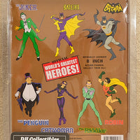 "Figure Toy Co.  World's Greatest Heroes  - Dick Grayson Action Figure 8"" Mego Retro"