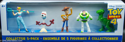 2019 Disney-Pixar Toy Story 4 Mini Figurines Collector 5 Pack