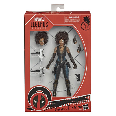 2020 Marvel's Domino Action Figure