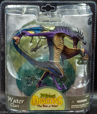 2008 McFarlane Toys Dragons Series 8 Water Clan Dragon - Figurine