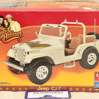 AMT ERTL Dukes of Hazzard Jeep CJ-7 Plastic Model Kit 1:25 Scale