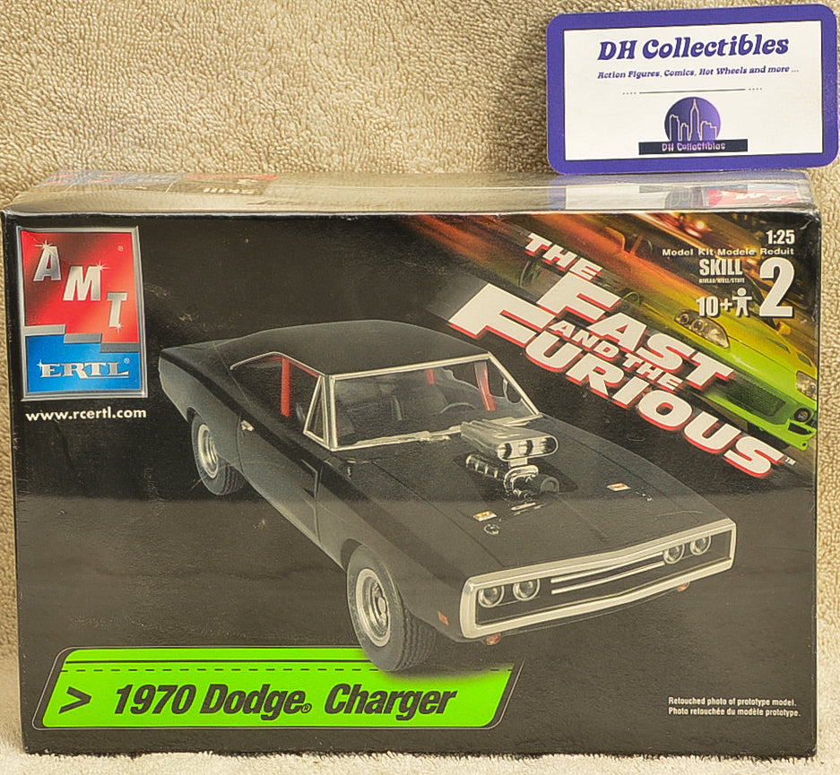 AMT/ERTL 2005 The Fast And The Furious 1970 Dodge Charger Plastic Model Kit 1:25 Scale