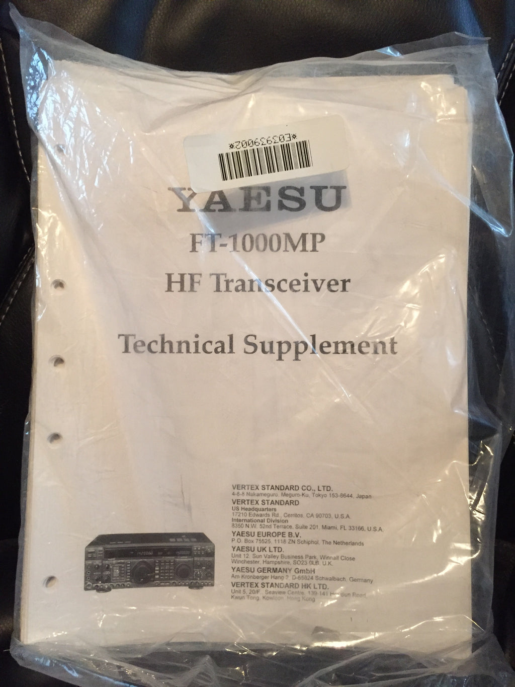 Yaesu FT-1000MP Service Manual