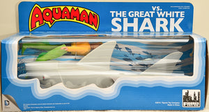 2015 Figures Toy Co Aquaman vs The Great White Shark Action Figure Set
