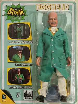 "2015 Figures Toy Co Batman Classic TV Series Egghead Sandwich Delivery Variant 8"" Limited Edition Action Figure"