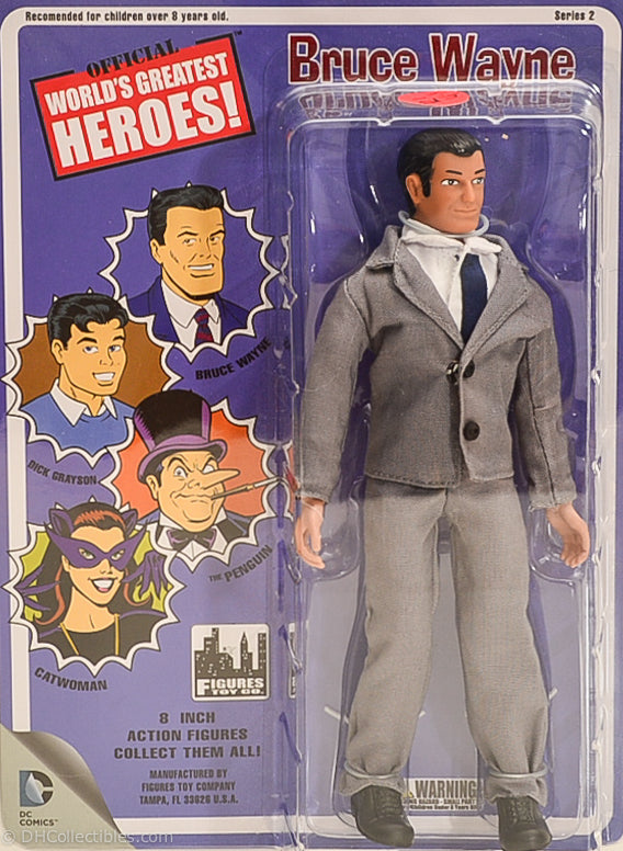 2013 Worlds Greatest Heroes  Series 2 Bruce Wayne Action Figure