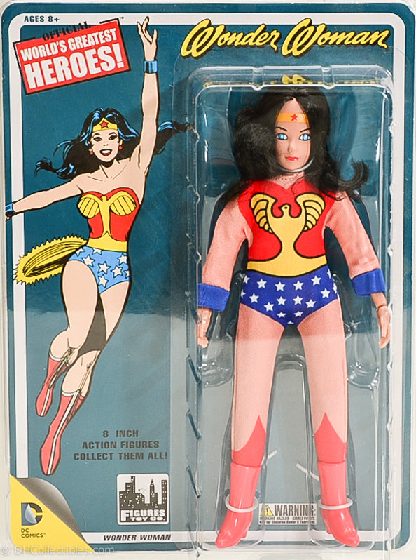 2014 World's Greatest Heroes! Wonder Woman with Full Body Artwork Action Figure
